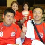 第21回中央区ソフトバレーボール大会に出場!