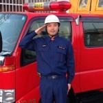 消防ポンプ操法訓練、始まる!