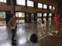 フレッサ福岡の「ハンドボール教室」に参加!